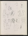 View Ray Yoshida sketchbook digital asset: page 20