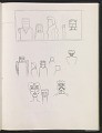 View Ray Yoshida sketchbook digital asset: page 25