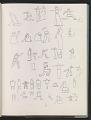 View Ray Yoshida sketchbook digital asset: page 47