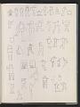 View Ray Yoshida sketchbook digital asset: page 48