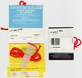 View Red wrapped and twisted stick samples digital asset: verso