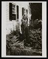 View Photograph of Marguerite Zorach in her garden digital asset number 0