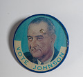 View Lenticular Button, Johnson-Humphrey Presidential Campaign digital asset number 5