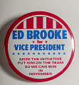 "View Pinback Button, ""Brooke for Vice President"" digital asset number 0"