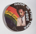 View Pinback Button, Jesse Jackson Presidential Campaign digital asset number 2