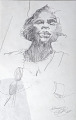 View Sketch of Marian Anderson (one of three) digital asset number 0