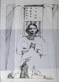 View Sketch of Marian Anderson (two of three) digital asset number 0