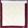 View Block Quilt with Burgundy & White Triangles digital asset number 2