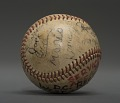 View Baseball Signed by the Ontario Lakers digital asset number 3