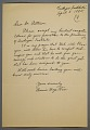 View Frederick Douglass Patterson papers digital asset: Correspondence