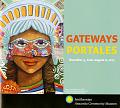 View Gateways/Portales Exhibition Records digital asset: GatewaysPortales exhibit brochure cover