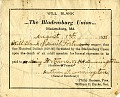 View The Bladensburg Union wills digital asset number 7