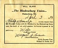 View The Bladensburg Union wills digital asset number 5