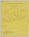 View The National Association of Colored  Women, Inc., bulletin #1 Golden Jubilee Celebration, July 27- August 2, 1946 digital asset number 1