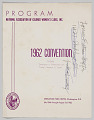 View National Association of Colored Women's Clubs, Inc., 1962 convention program digital asset number 1