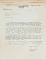 View Committee on Jobs for Negroes in Public Utilities, correspondence digital asset number 1