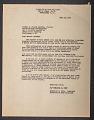 View Letter to Senator J. Howard McGrath from Tomlinson D. Todd digital asset number 1