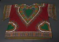 View Dashiki with heart shaped patterns digital asset number 0