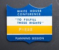 View White House Conference Press Badge digital asset number 0