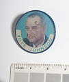 View Lenticular Button, Johnson-Humphrey Presidential Campaign digital asset number 2