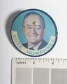 View Lenticular Button, Johnson-Humphrey Presidential Campaign digital asset number 3