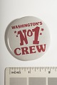 "View Pinback Button, ""Washington's No. 1 Crew,"" digital asset number 1"