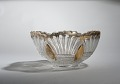 View Glass Punch Bowl with Gold Painted Trim digital asset number 3