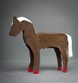 View Brown Wooden Horse digital asset number 0