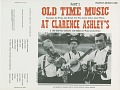View Old time music at Clarence Ashley's Part 2 [sound recording] / recorded by Eugene Earl, Ralph Rinzler, and Mike Seeger digital asset number 0