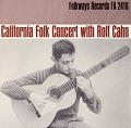 View California concert with Rolf Cahn [sound recording] digital asset number 0