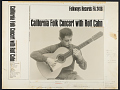 View California concert with Rolf Cahn [sound recording] digital asset number 2