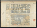 View The Folk Music of the Newport Folk Festival [1959-1960] Vol. 1 [sound recording] digital asset number 2