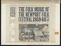 View The Folk Music of the Newport Folk Festival [1959-1960] Vol. 1 [sound recording] digital asset number 3