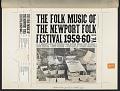View The Folk Music of the Newport Folk Festival [1959-1960] Vol. 1 [sound recording] digital asset number 4