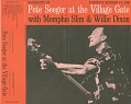 View Pete Seeger at the Village Gate [sound recording] / with Memphis Slim and Wee Willie Dixon digital asset number 0