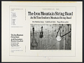 View Iron Mountain String Band : An Old Time Southern Mountain String Band [sound recording] digital asset number 2