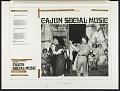 View Cajun Social Music [sound recording] digital asset number 1