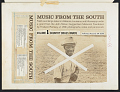 View Music from the South. Vol. 1 [sound recording] : country brass bands / recordings taken by Frederic Ramsey, Jr digital asset number 3