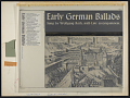 View Early German ballads. Vol. 1 [1280-1619] [sound recording] / sung by Wolfgang Roth digital asset number 2