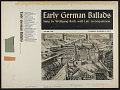 View Early German ballads. Vol. 1 [1280-1619] [sound recording] / sung by Wolfgang Roth digital asset number 3