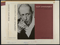 View Violin works of Igor Stravinsky [sound recording] / played by Hyman Bress digital asset number 2