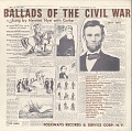 View Ballads of the Civil War, 1831-1865 [sound recording] / sung by Hermes Nye digital asset number 0