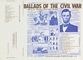 View Ballads of the Civil War - Vol. 2, 1861-1865 [sound recording] digital asset number 1