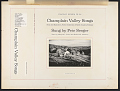 View Champlain Valley songs [sound recording] : from the Marjorie L. Porter collection of North Country folklore / sung by Pete Seeger digital asset number 1