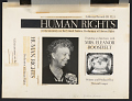 View Human rights [sound recording] : a documentary on the United Nations Declaration of Human Rights: an interview with Mrs. Eleanor Roosevelt / written and produced by Howard Langer digital asset number 2