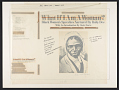 View What if I am a woman? 1 [sound recording] : black women's speeches / narrated by Ruby Dee ; with introductions by Ossie Davis digital asset number 0