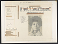 View What if I am a woman? 2 [sound recording] : black women's speeches / narrated by Ruby Dee ; with introductions by Ossie Davis digital asset number 0