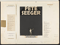 View Pete Seeger sings and answers questions at the Ford Hall Forum, Boston, Mass. [sound recording] digital asset number 1