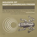 View Sounds of North American frogs [sound recording] : the biological significance of voice in frogs / narrated by Charles M. Bogert digital asset number 0