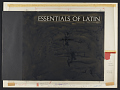 View Essentials of Latin [vols. 1 - 4] [sound recording] : an introductory course / by John F. C. Richards digital asset number 1